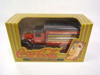 Ertl 1931 Delivery Truck Coca Cola Die Cast Metal Bank