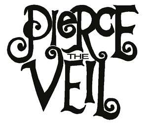 Pierce The Veil Logo Laptop Car Decal Vinyl Sticker