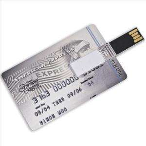 American Express Credit Card 2GB USB 2.0 Flash Drive