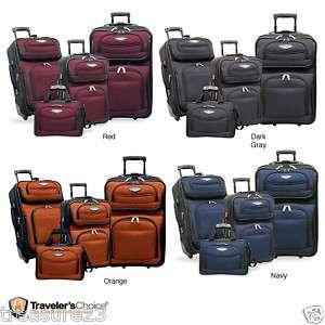 Travelers Choice Amsterdam 4 piece Luggage Set