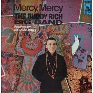 MERCY,MERCY LP (VINYL) UK LIBERTY 1968 BUDDY RICH BIG BAND Music