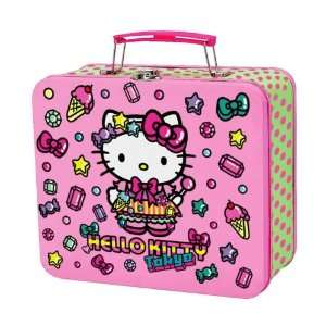 Hello Kitty Metal Lunch Box Streets of Tokyo