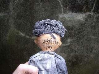 JUSTIN AERNI art clown doll goth macabre : BOZO BIZARRO
