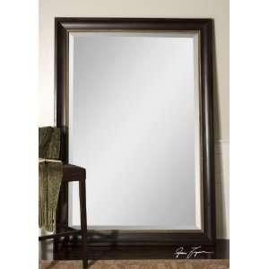 Extra Large Wall Mirror Oversize Dark Wood XL Mahogany