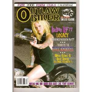 Calendar/Tribute to Evil Knievel, Issue 170): Outlaw Biker: Books