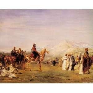 Arab Encampment in the Atlas Mountains