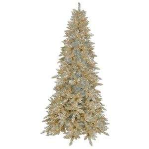 Vickerman K884131 3 ft. x 17 in. Christmas Tree Champagne Ashley 100CL