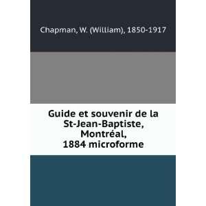 Guide et souvenir de la St Jean Baptiste, Montréal