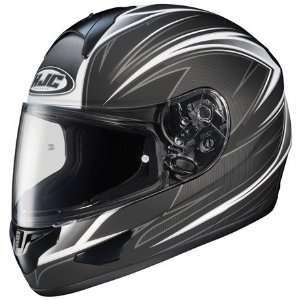 com HJC CL 16 Razz Full Face Motorcycle Helmet MC 5F Flat Black Extra