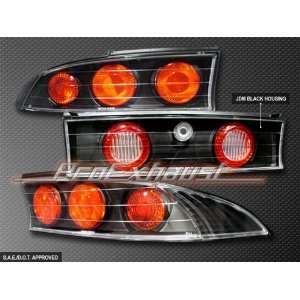 Mitsubishi Eclipse Tail Lights JDM Black Altezza Taillights 1995 1996