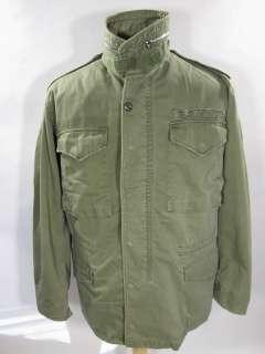 VIETNAM ERA M 65 FIELD Jacket military ARMY CONMAR zipper Small