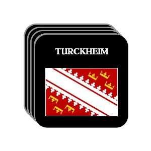 Alsace   TURCKHEIM Set of 4 Mini Mousepad Coasters