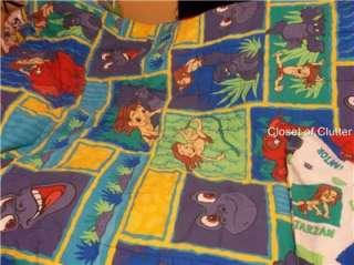 BOYS & Girls Cartoon Character Twin Comforter/Blanket (Vintage) Sold