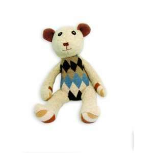 Bear Stuffed Animal (Colors Will Vary): Toys & Games