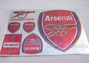 Arsenal Football Soccer Car Bumper Sticker Decal 12x8