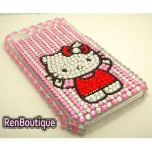 iPhone 4 4S Hello Kitty Crystal Rhinestone Bling Bling