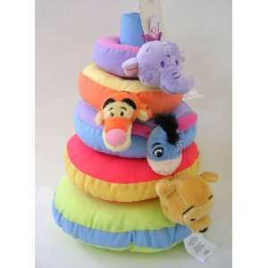 Children toy  Eeyore pooh & Tigger Infant Strikng Ring Toys & Games