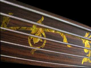 Tree Of Life (Ocher) Fretless Bass Fret Markers Inlay Sticker Decals
