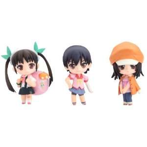 Bakemonogatari Nendoroid Petite Series 2 Action Figures