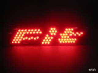 77DD Red LED High Mount STOP Brake Light HONDA Fit 1st Gen 03 08