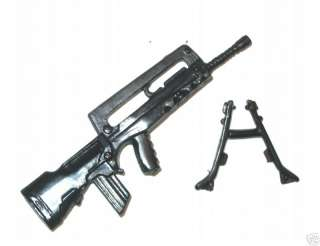 FAMAS Assault Rifle w/ Bipod (1)   118 Scale Weapon for 3 3/4 Action