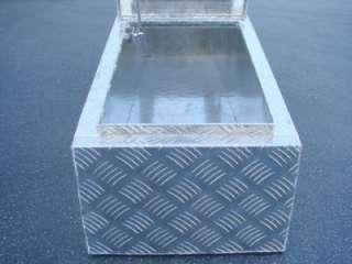 TRUCK PICKUP BED RV TRAILER GULL WING TOOL BOX LOCK 2 LIDS STORAGE