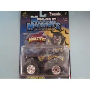 Dracula Universal Studios Die cast Monster Truck By Muscle Machines