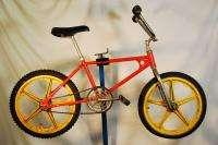 1980s Team Murray bmx Bicycle Bike Orange Troxel Mag Wheels