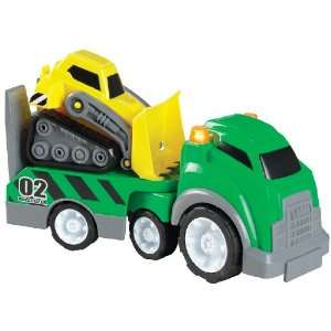 Small World Express Preschool Toys Mega Trucks   Bulldozer