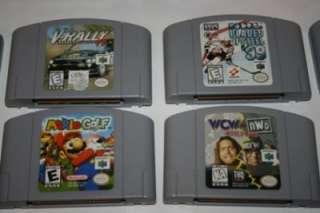 Console Controllers Atomic Purple Mario Kart Mario Golf 14 Games LOT
