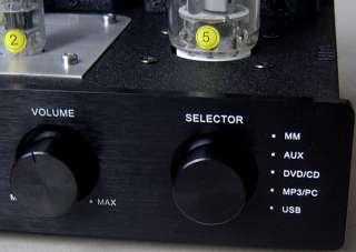 Class A Single Ended Tube USB DAC Audio Amplifier FU50