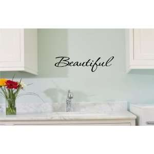 Beautiful Vinyl wall art Inspirational quotes and saying