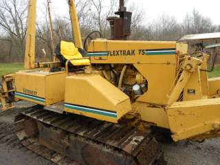 Vermeer Flex Track 75 Trencher Cable Plow Bull Dozer Track Machine