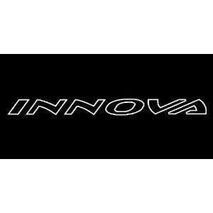 Toyota Innova Outline Windshield Vinyl Banner Decal 36 x 3