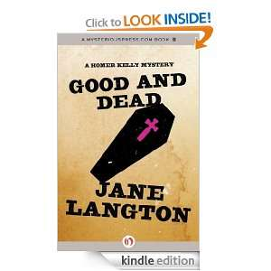 Dead A Homer Kelly Mystery Jane Langton  Kindle Store