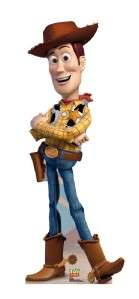 WOODY TOY STORY MOVIE LIFESIZE CARDBOARD STANDUP STANDEE CUTOUT POSTER
