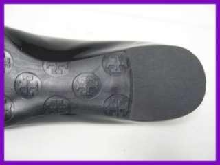 Auth Tory Burch Black Patent Reva Flats US 6.5