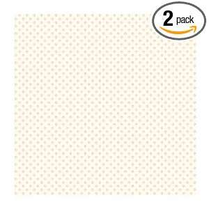 Casabella JG0764 Puppy Paw Wallpaper, Off White/Pink: Home Improvement