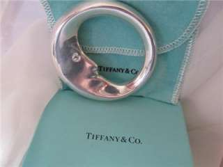 Tiffany & Co. Man In The Moon Sterling Silver Baby Rattle