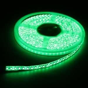 Green 5M 600 LED 3528 SMD Flexible Car DIY Strip Light