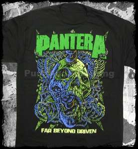 Pantera far beyond driven official t shirt heavy metal