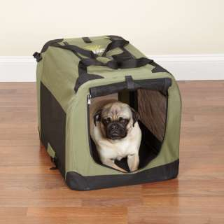 GUARDIAN GEAR LIGHTWEIGHT SOFT  SIDED SAGE DOG CRATE