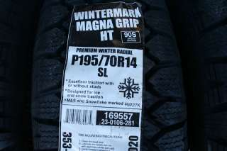 70 14 Wintermark Magna Grip HT Tires 90S *SHIPPING DISCOUNT*