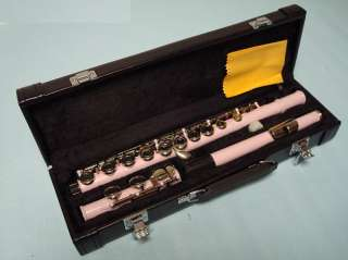High Quality School Band Pink Flute Brand New