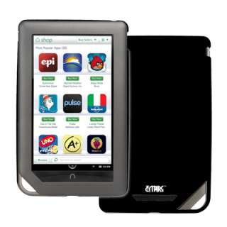 for Barnes and Noble Nook Color Black Hard Stealth Case+USB Cable
