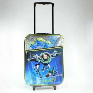 Toys Story Kids Black Luggage Suitcase   Woody Buzz Travel Roller Bag