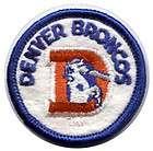 Glossy NFL Team Pin Denver Broncos New Football Fans
