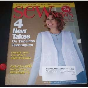 Sew News (#271) March 2005 Editor in Chief Maria