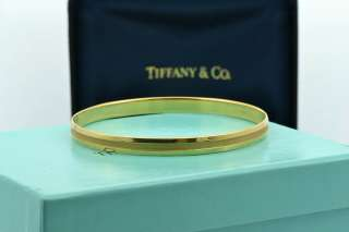 Tiffany & Co. Jewelry 18k Yellow Gold Bracelet Bangle