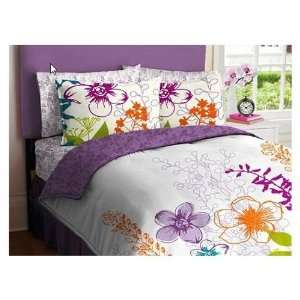 Queen Beds For Teenage Girls com Purple, Gre...